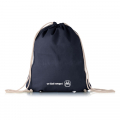 Cotton gym bag navy