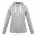 Hooded Sweat Jacket Ladies - Grey