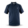 Polo shirt men navy